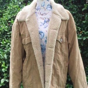 VINTAGE Levi's Sherpa coat